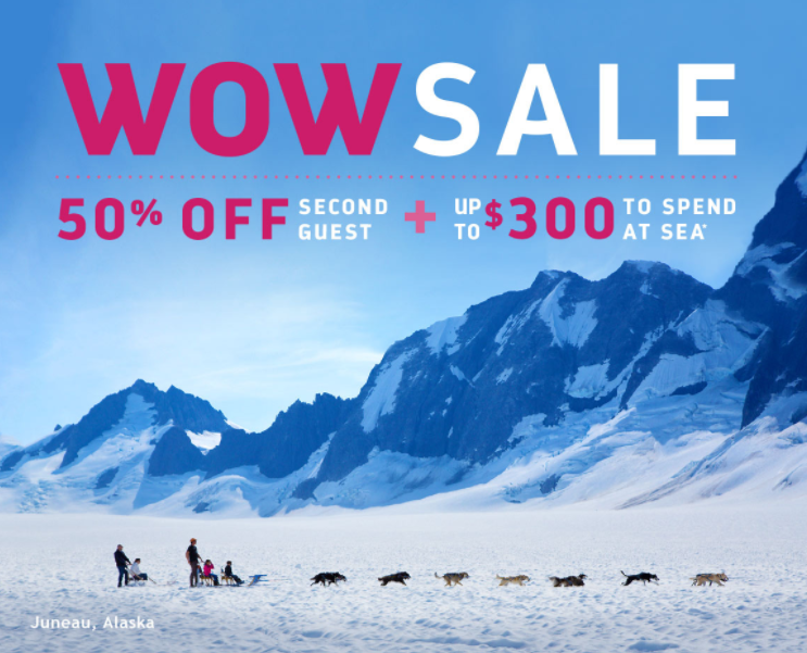 Wild adventures & savings await in Alaska – score up to $300 to spend at sea