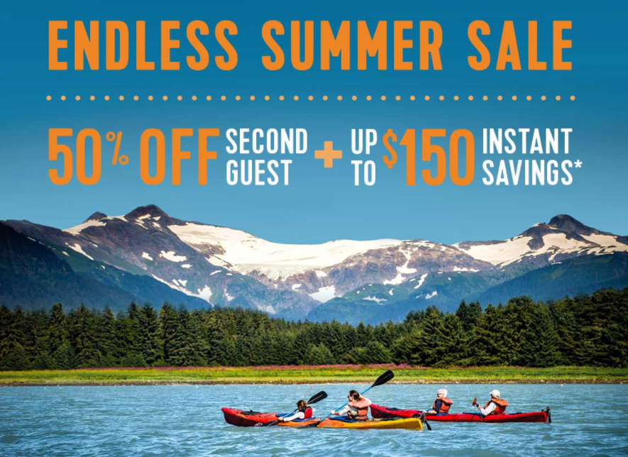 Save up to $150 on an unforgettable Alaskan adventure