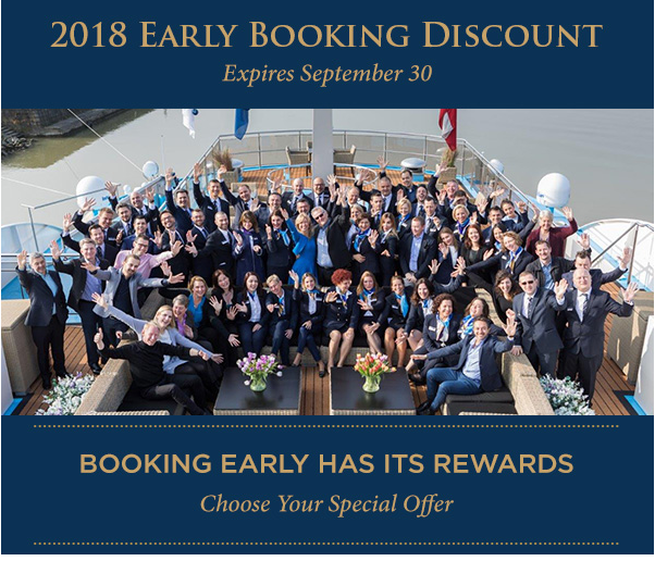 2018 Early Booking Discount Expires September 30!