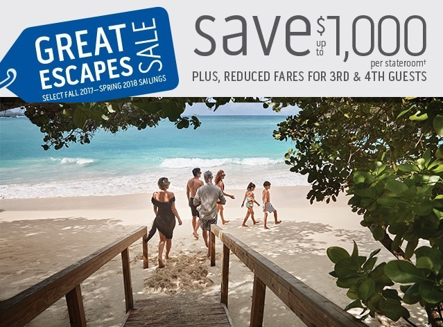 With up to $1,000, where will you escape?