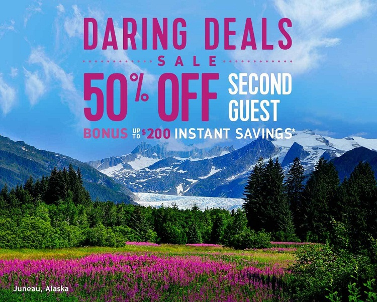 Dare to explore Alaska with up to $200 in instant savings