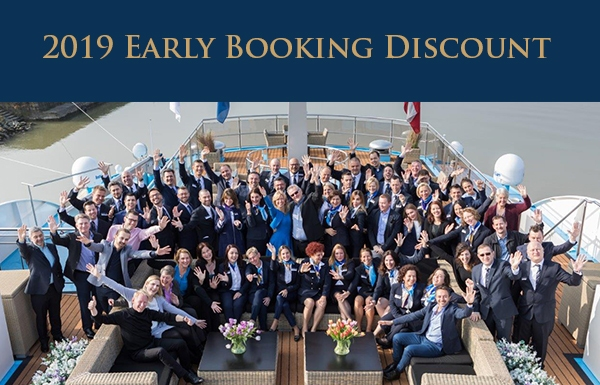 Early Booking Rewards on 2019 River Cruises