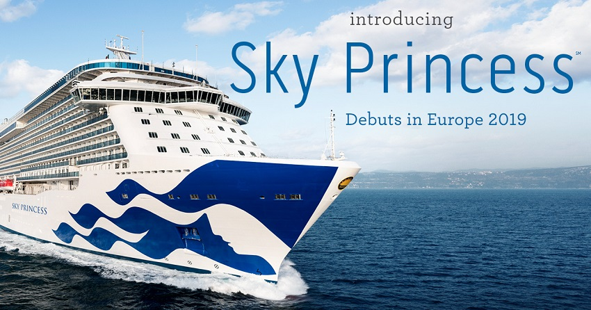 Introducing Sky Princess Debuts in Eurpoe 2019