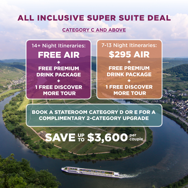 2018 Is the Year to Cruise – and Save Up to $3600 Per Couple