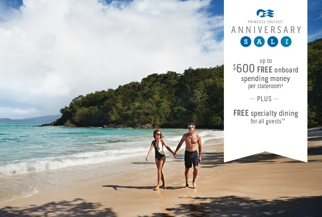 Up to $600 extra dollars for your next cruise