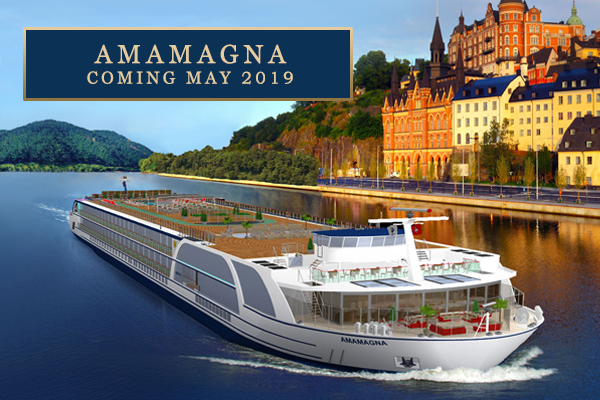 'AmaWaterways' New Cruise Ship and Amazing Offers