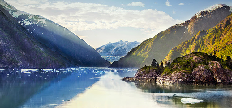 You can experience the beauty of Alaska from the comfort of Queen Elizabeth