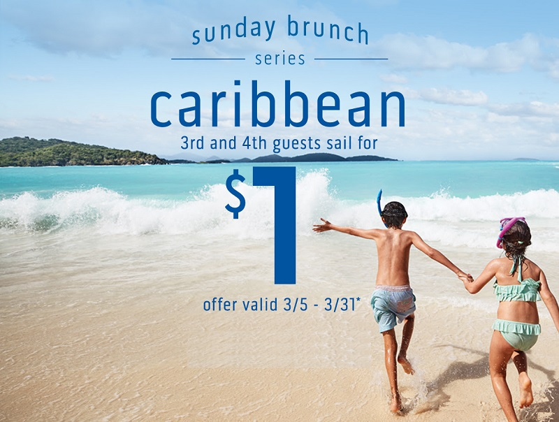 Kids of all ages sail the islands for only $1!