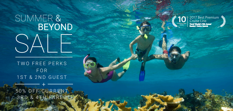 Summer & Beyond Sale – Two free perks for 1st & 2nd guest