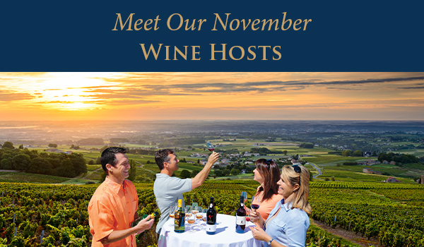 Travel With Our Wine Experts | Enjoy Free Roundtrip Airfare