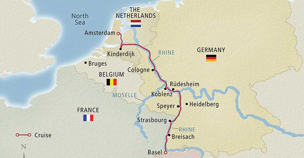 Amsterdam to Basel 8 day tour 1