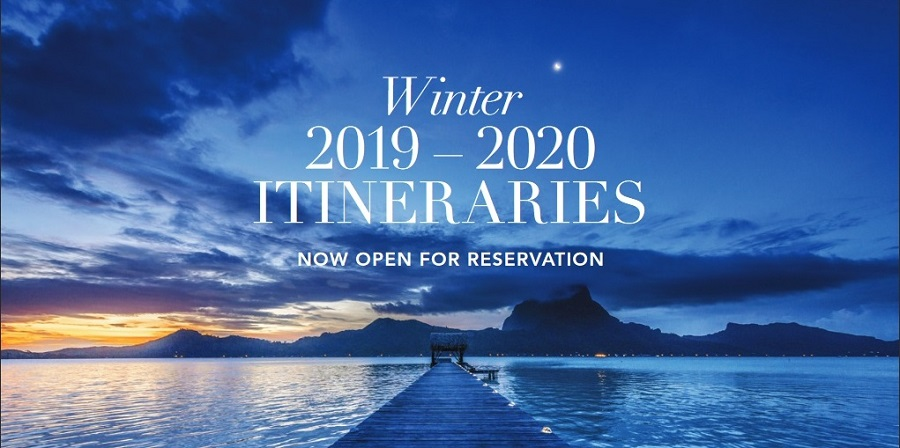 Be the First to Book on our 2019 and 2020 Voyages