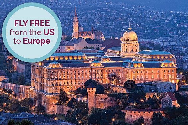 Fly FREE to Europe and Extend Your Stay in Paris or Prague